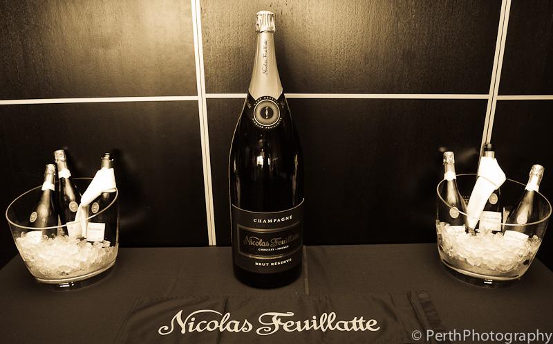 Champagne – NICOLAS FEUILLATTE PERTH LAUNCH – BREAKWATER HILLARY